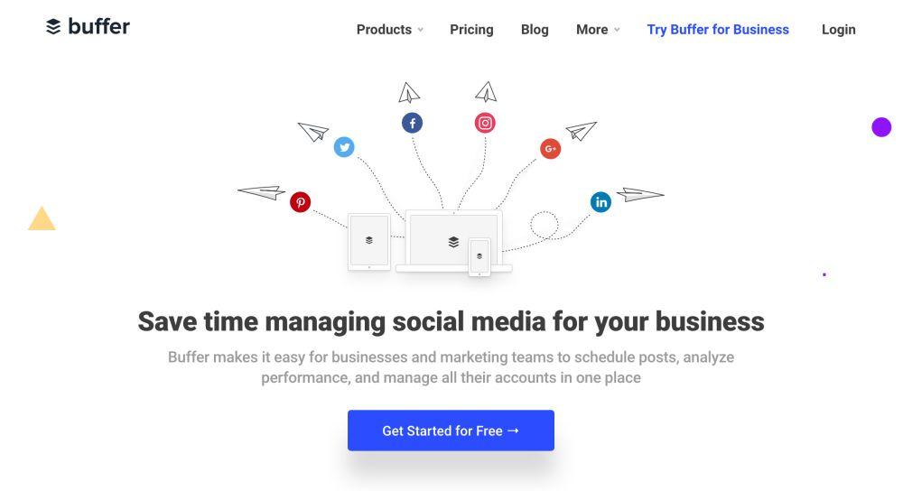 Buffer เครื่องมือจัดการ Social Media