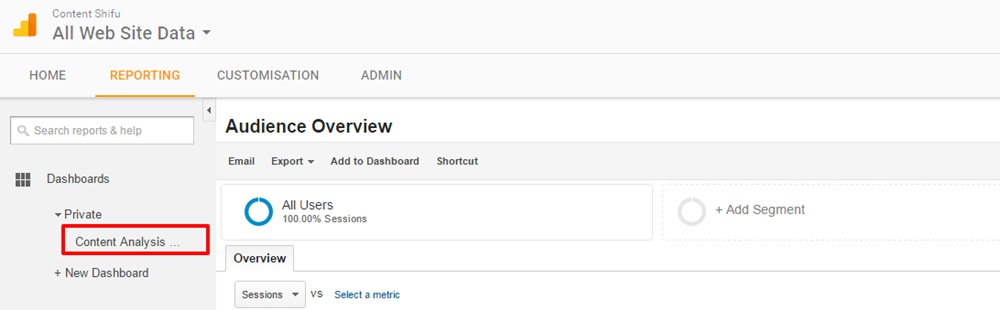 google-analytics-content-analysis-dashboard-in-reporting