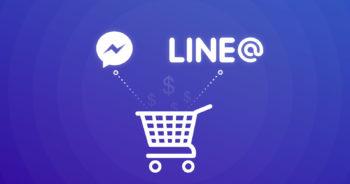 ขายของออนไลน์ คุยกับลูกค้าผ่าน LINE@ หรือ Facebook Messenger ดีกว่ากัน?