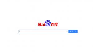 ตัวอย่าง Search Engine Baidu