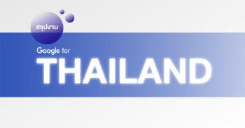 สรุป Google for Thailand กับหลากหลายบริการเปิดใหม่ ตอบโจทย์ทั้ง User YouTuber และร้านค้า