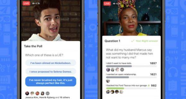Facebook Live เพิ่มฟีเจอร์ควิซโชว์ เพิ่มสีสันระหว่างดูไลฟ์