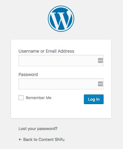 การใช้งาน wordpress