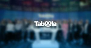 Taboola on Nasdaq