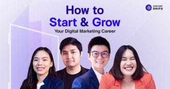 สรุปบทเรียนจากอีเวนต์ 'How to Start & Grow Your Digital Marketing Career' ค้นพบคำตอบเริ่มต้นสู่สายงานและเติบโตอย่างก้าวกระโดด